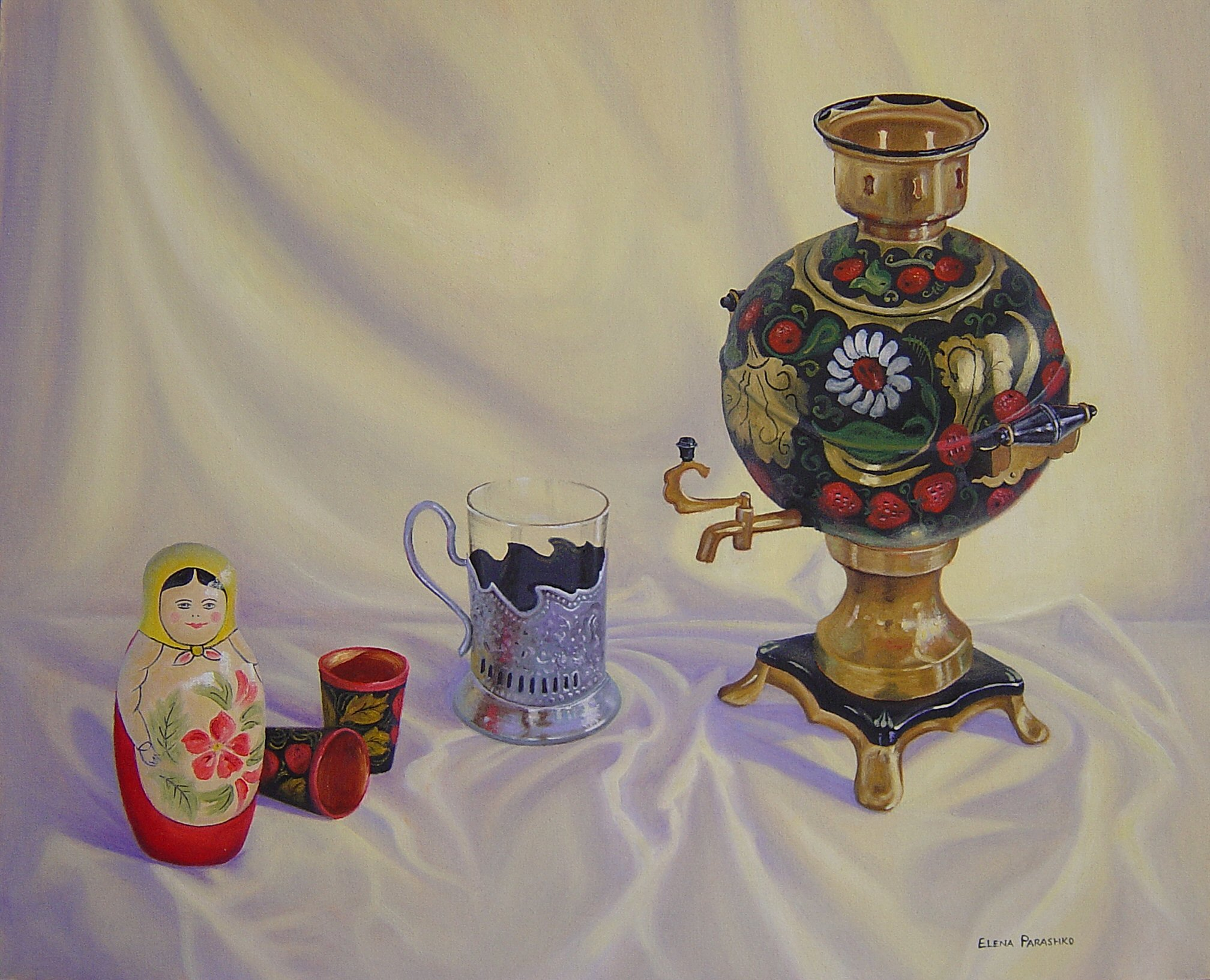 Matrushka with Samovar