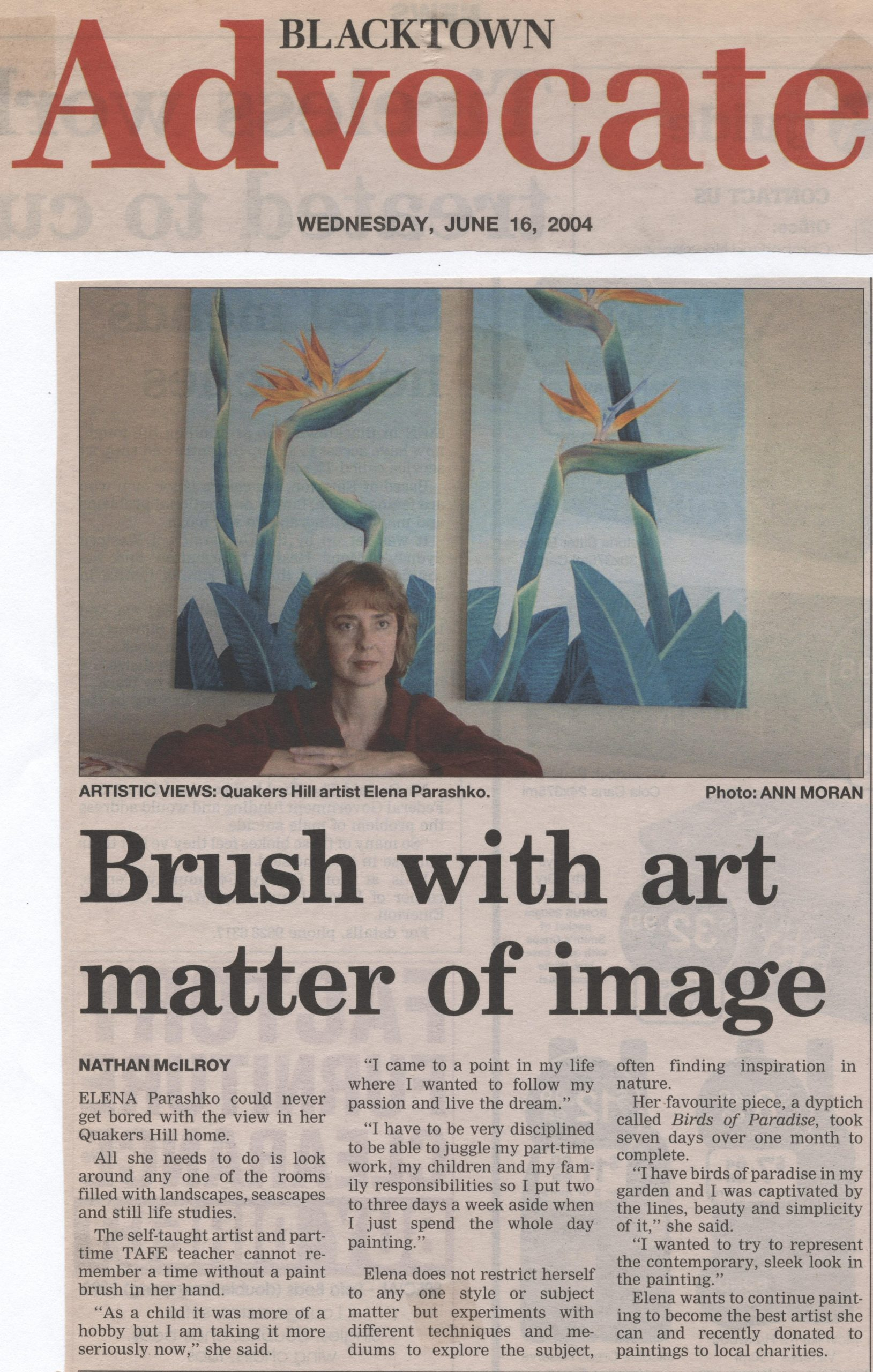 brush with art matter of image